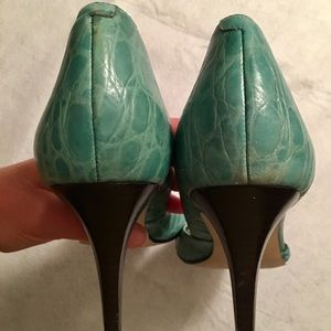 Nine West Shoes - Nine West Peep Toe Pumps Size 10.5
